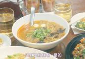 孤独的美食家6:叔咸菜炒肉套餐和缅甸风牛肉汤和餐后面包配奶茶