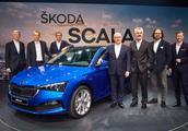 斯柯达新车Scala亮相,基于大众MQB平台打造