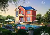 10.6mX10.8米农村美墅,经典与时尚的完美融合,十分适合90后自建