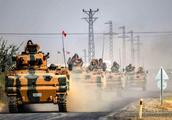 一触即发!大量土耳其坦克战车开进叙利亚,战机已率先展开空袭