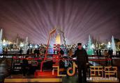 游人如织、激光似火、红色曲江,夜晚的大雁塔是最美的中国