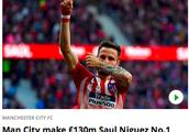 曼城夏窗追西班牙国脚顶替34岁后腰 1.3亿镑解约金吓不退土豪蓝月