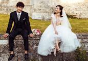 王阳高斯晒婚纱写真,唯美浪漫颜值爆棚,这才是真正的郎才女貌!