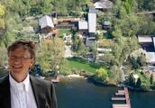 带你看看比尔盖茨住的豪宅:装修花费几个亿,室内装了水族馆