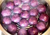 紫薯面怎样做花样馒头
