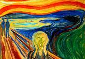 《呐喊》让他成为20世纪初德国现代表现主义绘画的先驱