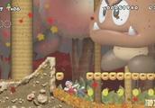 超级玛丽奇异森林大冒险,马里奥遇到比屏幕还大的蘑菇怎么破?