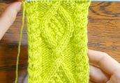 棒针编织最漂亮的男生毛衣辫子图案,织法简单,新手进
