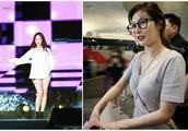 韩国歌手金泫雅素颜现身机场,网友:我的性感女神去哪里了?