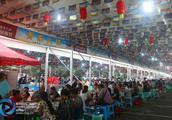 长寿古镇上演千人火锅宴