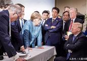 """北约峰会前夕特朗普炮轰默克尔:""""德国想要保护俄罗斯"""""""