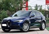 纯进口SUV阿尔法·罗密欧Stelvio, 售价39.98-96.98万元