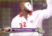 奥尼尔NBA全明星假面开场热舞,从音乐响起到结束,尖叫声不断