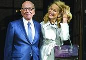 86岁传媒大亨默多克和邓文迪离婚后,娶了个身高一米八的国际超模