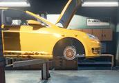 汽车修理工模拟 车轮死活装不上 原来轮胎不对型号