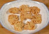 教你在家炸麻叶、排叉、果子、馓子,6种传统翻花手法,香酥可口
