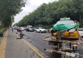 交通事故责任划分··电动车和出租车相撞