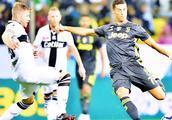 尤文2-1帕尔马,曼朱基奇闪击马图伊迪爆射破门,C罗仍未进球!