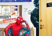 网友脑补毒液蜘蛛侠对打场面,饭制神P图海报网络疯传