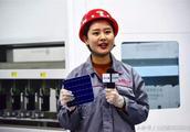 国庆献礼!潞安太阳能2GW高效PERC电池出首片!