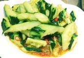 凉拌生瓜的做法5分极速11选5图,凉拌生瓜怎么做好吃