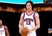 NBA2K19史蒂夫纳什!