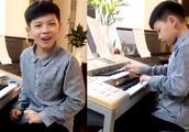 11岁奇才演奏射雕英雄传主题曲《铁血丹心》网友:一个顶一支乐队
