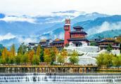 汶川水磨古镇,藏羌汉的千年融合之作