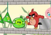 愤怒的小鸟:怒鸟踢猪崽,精彩小游戏