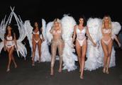 卡戴珊5姐妹变维密天使,穿糖糖同款的小妹比瘦到105斤的金还惊艳