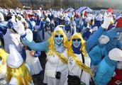 蓝精灵大会在德国劳赫林根举行,蓝精灵粉丝们的盛典