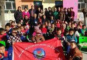 金秋送温暖,关心下一代——新疆红石慈善基金会青松公益专项基金