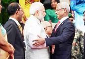 """马尔代夫""""亲印""""总统宣誓就职 印媒:印度重新夺回对马尔代夫"""
