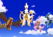 神奇宝贝:创造神奇宝贝世界的神兽,阿尔宙斯究竟有多强