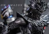 CROW AMAZON 万代假面骑士SHF魂限定 乌鸦 伊优「木子模玩室」