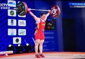 龙门姑娘黎雅君获得2018世锦赛女子举重55公斤级别亚军!