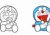 动漫系列---哆啦A梦6种画法,快来学学把!