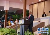 马尔代夫新任总统萨利赫宣誓就职