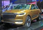 红旗中大型SUV面世,家族化设计风格,支持国产必须买