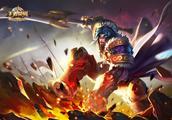 王者荣耀:火焰山大战中可以推人的英雄,项羽最好用,达摩伤害高