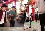 艺人在街头唱《江南》,竟遇见原唱林俊杰本人,真是让人又惊又喜