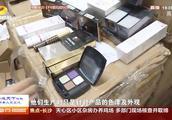 湘潭破获1.3亿假冒伪劣化妆品案,查扣假冒化妆品45个品种22万盒