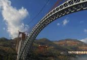大瑞铁路怒江特大桥合龙,未来大理到瑞丽只需2小时!