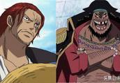 海贼王:红发团与黑团对位分析,已知实力黑胡子已完败!