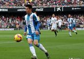西班牙人平瓦伦西亚 武磊第一次西甲首发 两大劣势暴露被评最低分