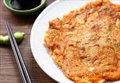 泡菜煎饼做好这1步,冷了也柔软!做法超简单,香喷喷,真好吃!