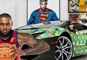 顶级NBA球星座驾,詹姆斯比不过罗斯的车,却都不如奥尼尔的狂