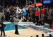 NBA扣篮大赛-飞跃奥尼尔致敬卡特 雷霆队迪亚洛夺冠