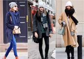 时髦过冬 没有什么是一条大围巾解决不了的