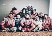 胡歌演吴京的新电影,《攀登者》剧照流出,成龙章子怡都在其中